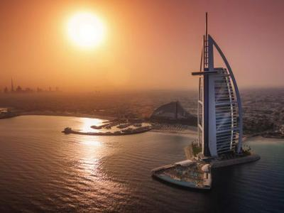 Kombi 5 Nä. Hilton al Hamra Beach + 2 Nä. Burj al Arab