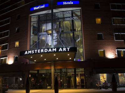 WestCord Art Hotel Amsterdam 3 Sterne - lage