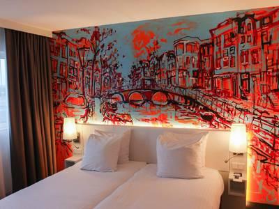 WestCord Art Hotel Amsterdam 4 Sterne - zimmer