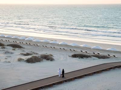 Jumeirah Saadiyat Island Resort - lage