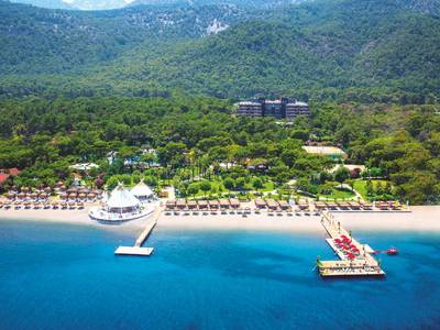 Paloma Foresta Resort & Spa - lage