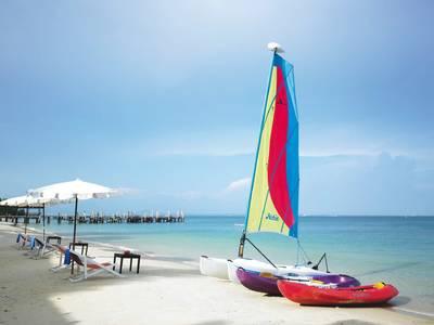 Jomtien Palm Beach - lage