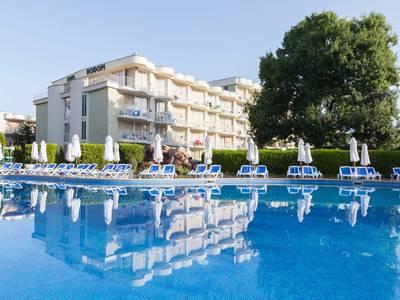 Club Hotel Sunny Beach - lage