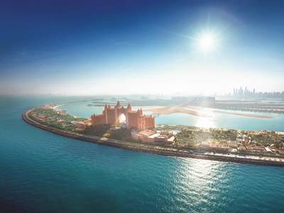 Atlantis, The Palm - lage