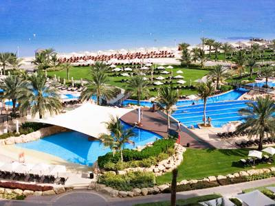 The Westin Dubai Mina Seyahi Beach Resort & Marina - lage