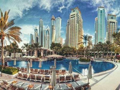 Habtoor Grand Resort, Autograph Collection - lage