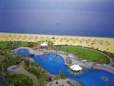 Le Meridien Al Aqah Beach Resort - lage