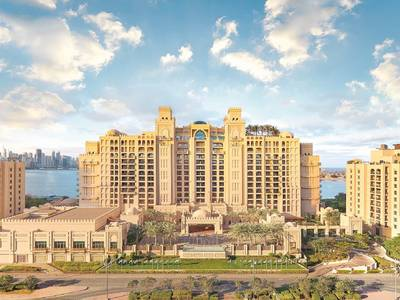 Fairmont The Palm Dubai - lage