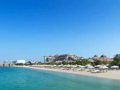 Anantara The Palm Dubai Resort - lage
