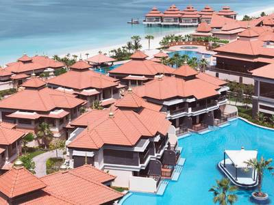 Anantara The Palm Dubai Resort - lage
