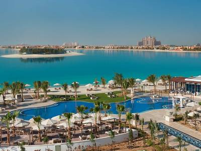 Waldorf Astoria Dubai Palm Jumeirah - lage