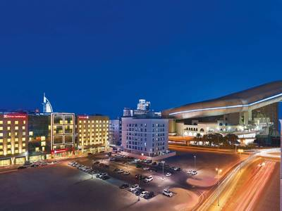 Hilton Garden Inn Dubai Mall of the Emirates - lage