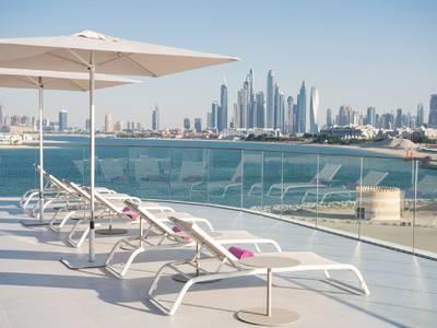 W Dubai The Palm - lage