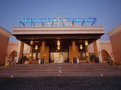 Albatros Palace Resort - lage