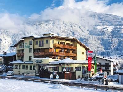Hotel Alpina - lage