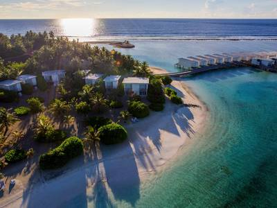 Holiday Inn Resort Kandooma Maldives - lage