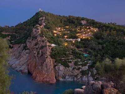Arbatax-Borgo Cala Moresca - lage