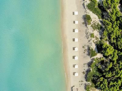 Sani Beach - lage