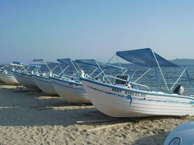 Akrathos Beach - sport
