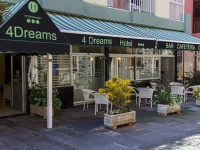 4 Dreams Hotel - lage