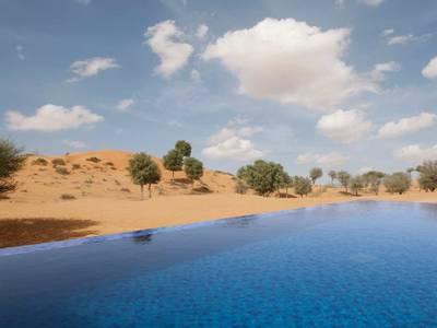 The Ritz-Carlton Ras Al Khaimah, Al Wadi Desert - lage