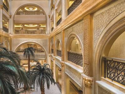 Emirates Palace Abu Dhabi - ausstattung